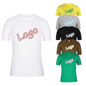 China Factory design your own logo 100 cotton printed Custom T shirt