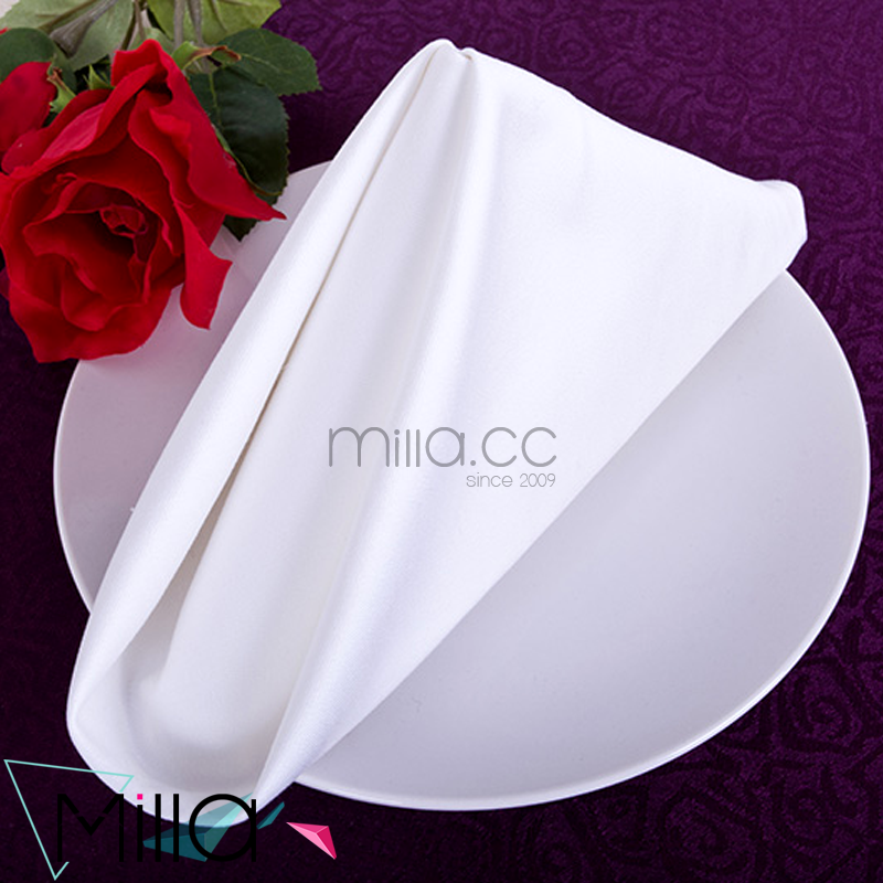 White Hotel Table Napkin for Restaurant