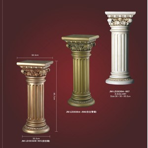 High Quality Good Price Beauty polyurethane decorative PU plastic roman pillar
