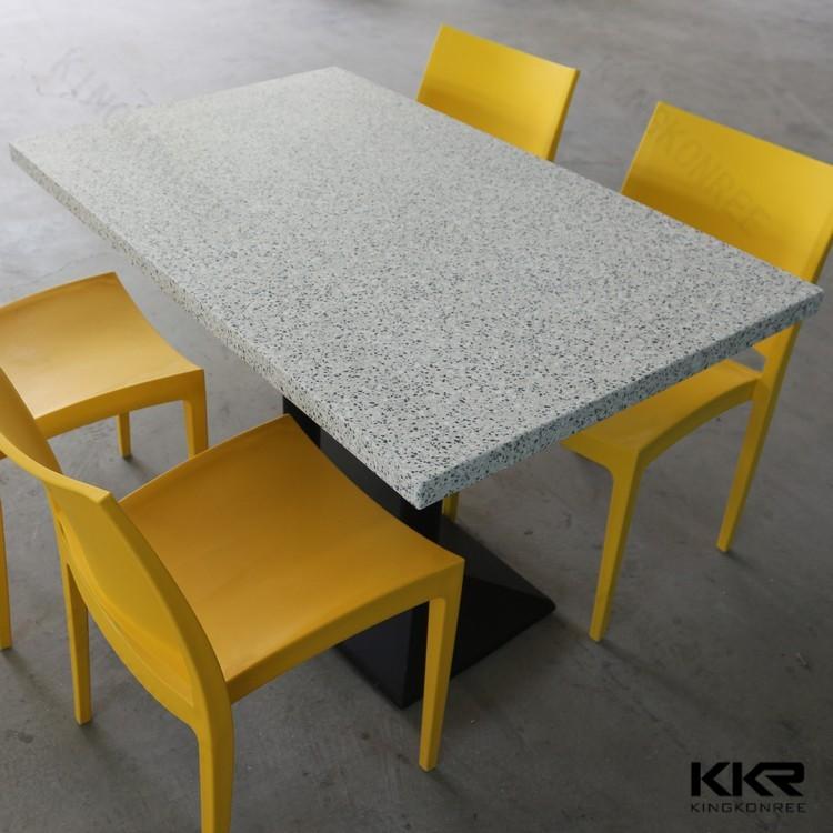 סנסציוני כיסאות שולחנות שולחן אוכל עגול קטן זול מסעדת מטבח-שולחנות אוכל FM-41