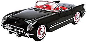 Autoworld AMM1015 1:18 1954 Chevrolet Corvette Convertible Black