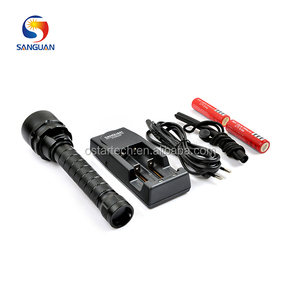 Africa Commercial Diver Torch Light 3pcs LED rechargeable SG-D3