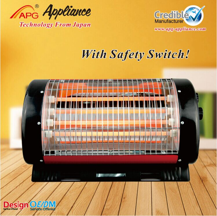 Infrared portable electric heater