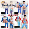 2015 new arrical glow in the dark Upin&Ipin kids clothing wholesale children boutique clothing