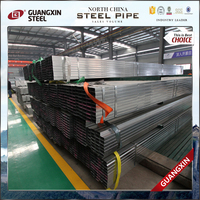 Advanced Equipments Made Widely Used Promotion Q235 Galvanized Rectangular Steel Pipe