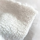 100% polyester super soft sherpa suede bonded fleece fabric for fashion garment