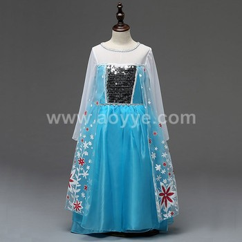ded0126c39b Fashion cosplay online shopping wholesale flowers fabric 3-5 year old girl  sequins wedding party