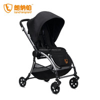 ALUMINUM ALLOY FRAME MATERIAL GOOD BABY STROLLER STYLE ONE HAND FOLDING IN FIVE SECONDS CONVENIENCE DESIGN