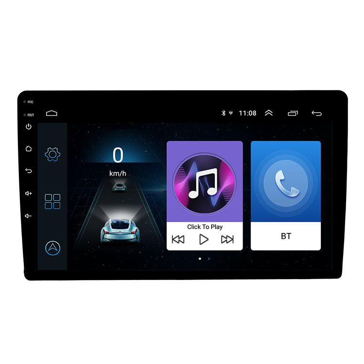 Commercio all'ingrosso Android 8.1 9 pollici 2Din Full Touch Screen Del Telefono Per Auto di Collegamento Wifi 1G + 16 Auto Media Radio
