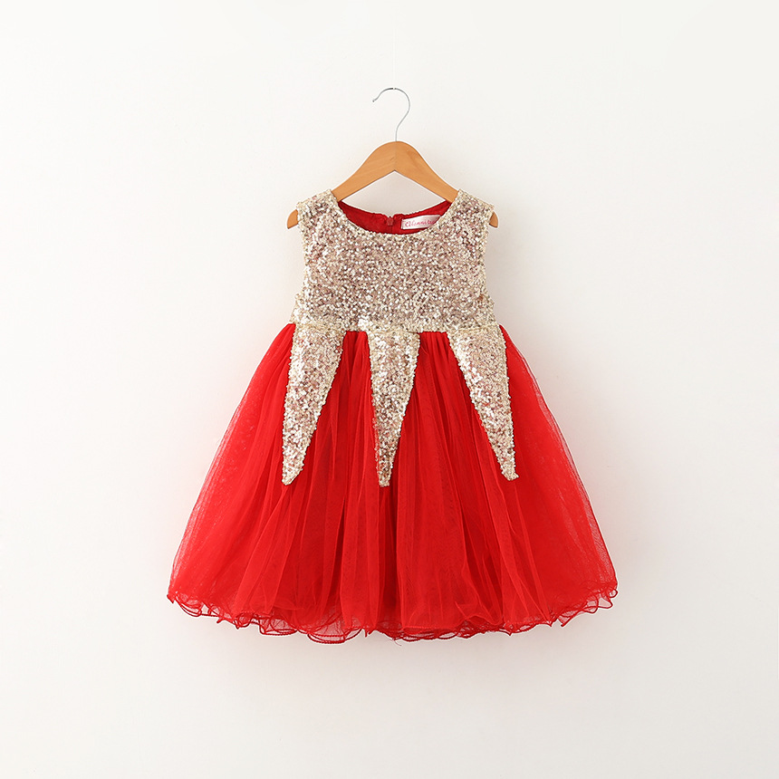 93dae134b2e8 Gold Sequin Flower Girl Dress Blush Rustic Sleeveless Tulle Dress Birthday  Wear