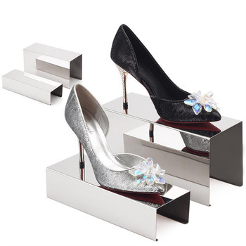Retail Shop metal block shoe display riser