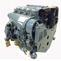 F4L912 deutz 46kw 60hp air cooled diesel engine
