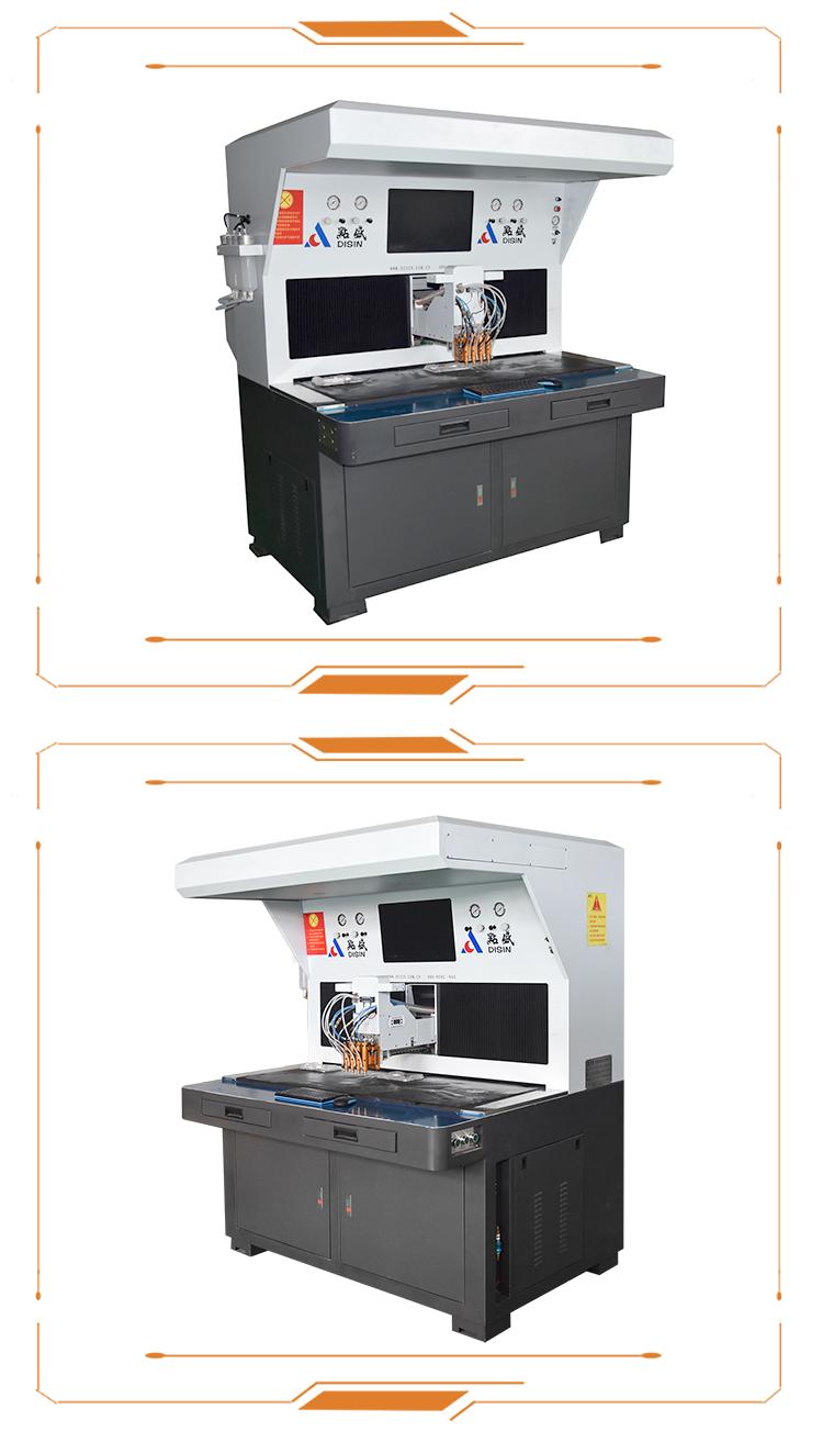 Automatique Visulal Doming Époxy AB Résine distributeur de Colle