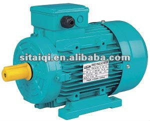 MS series three-phase asynchronous electric motor with aluminium housings