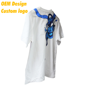 Hot Selling Good Quality dry fit 3D Print Silm size 160g White Thick Adult Tee shirt for Men