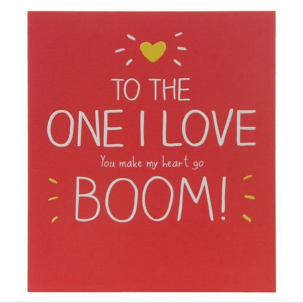Happy Birthday To The One I Love Card Birthday Greeting Card