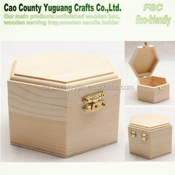 wooden treasure chest jewelry boxmaking wooden boxhinged lid metal box