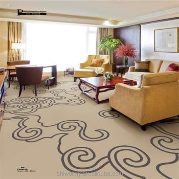 China Soft Cloud Design Printed Nylon Home Carpet