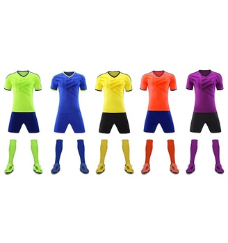 Customized Soccer Training Shirt Embroidery Football Jersey New Model