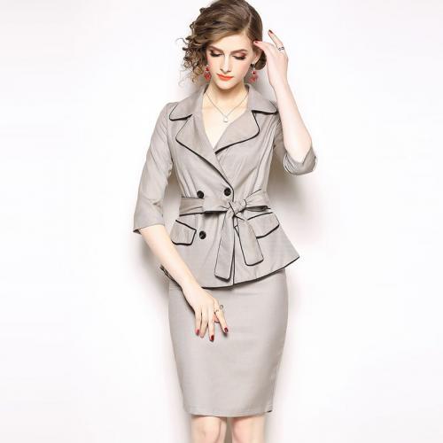 d52236bf5863 Venta al por mayor traje sastre para dama falda-Compre online los ...