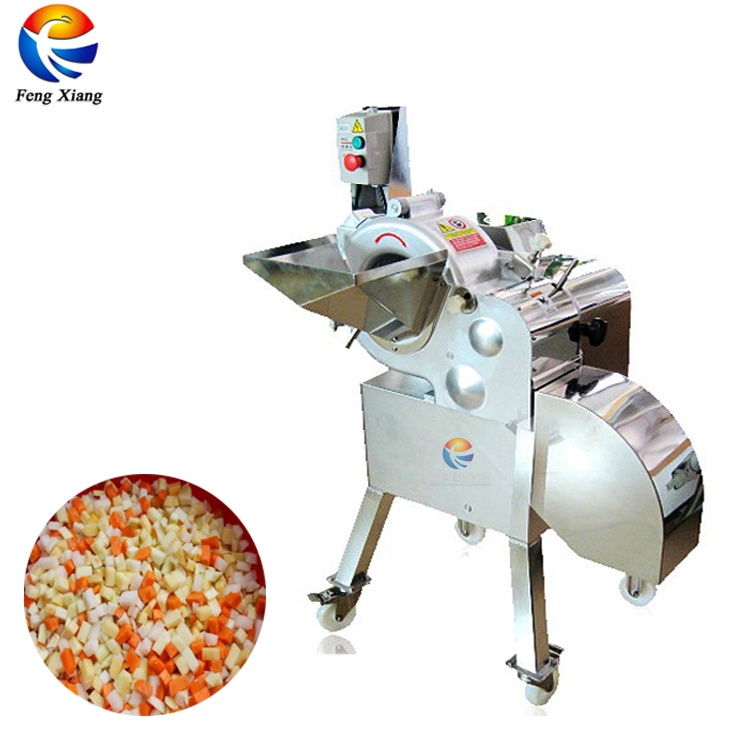 Comercial Elétrica Automática Fruit and vegetable chopper cortador dicer slicer cortador de máquina