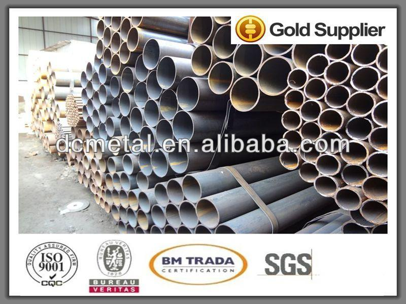 Grade Q195, Q235 thick wall steel pipe, zinc coating scaffolding tube and accessories
