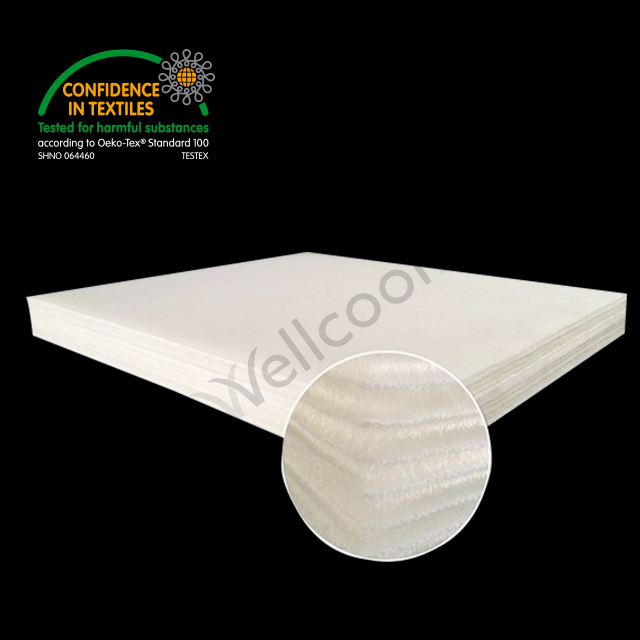 airflow cooling mesh mattress made of 3d spacer mesh in knitted