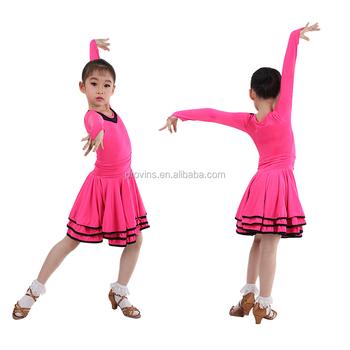 c7727e128 ... Children Latin Salsa Dance Dress Long Sleeve Rumba. Previous Next. latin  dance costumes kids s ballroom performance dress ...