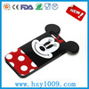Lovely Mickey Mouse Silicone Rubber case cover, phone case, phone back cover