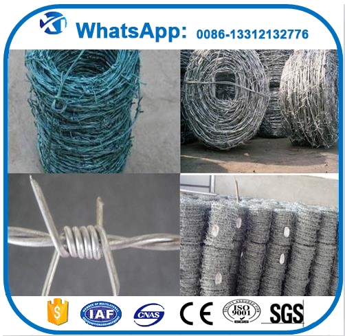Professional barbed wire price per roll wire barbed manufacturer in China