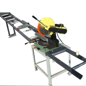 Bohman Aluminum plastic table saw machine with best service