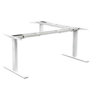 sit and stand up 3-leg electric desk height adjustable table base