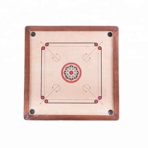 Carrom Board Game Classic Strike and Pocket Table Game