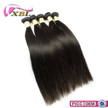XBL Popular Hair Type Of Natural Cheap Straight Brazilian Hair Weave