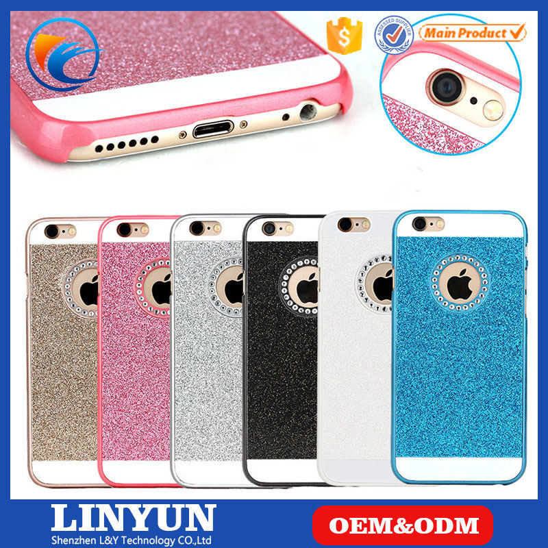 Rhinestone Bling PC Case For iPhone 4/4s/5/5s/se,6/6s,6/6s Plus