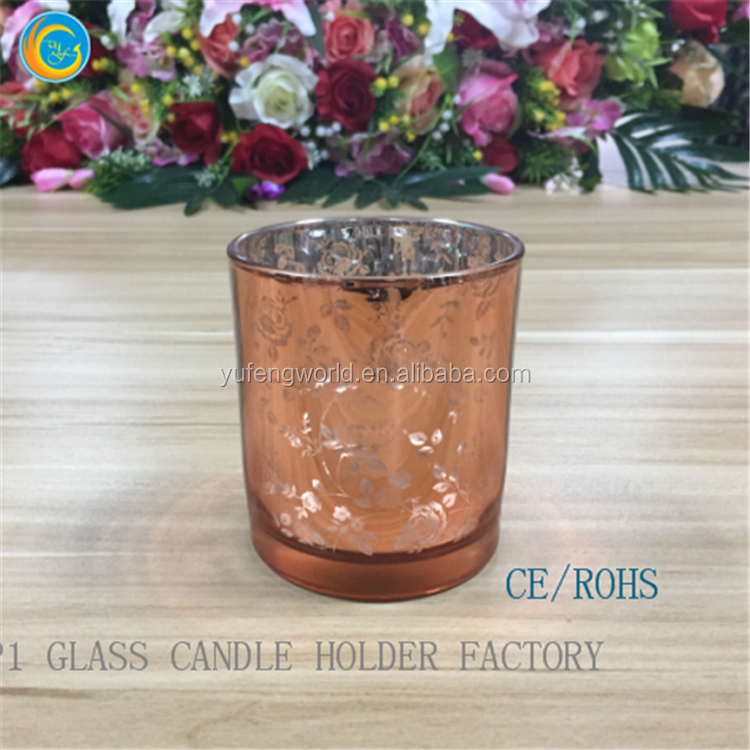 glass candle jar laser engraving glass candle containers
