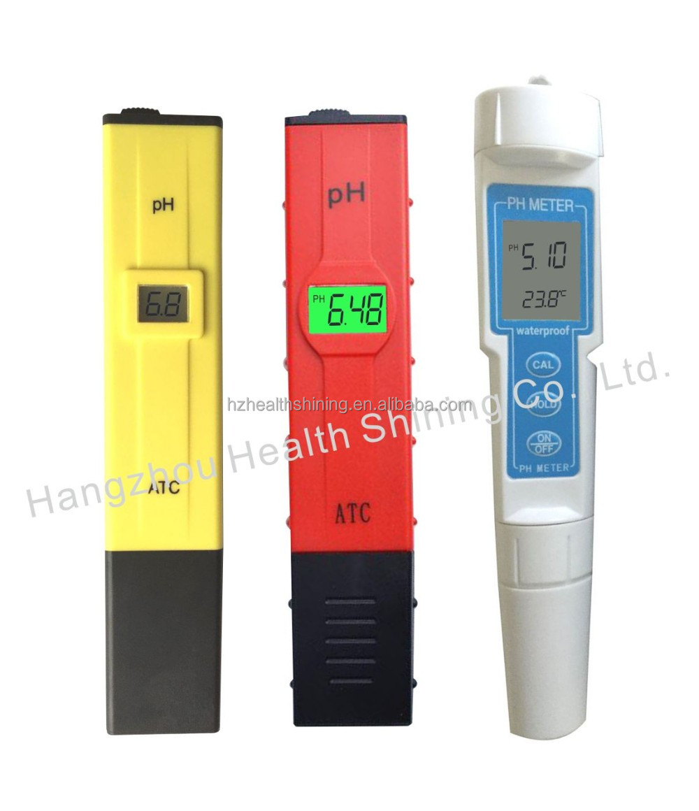 portbale backlight ATC pen type PH meter with simple Measurement