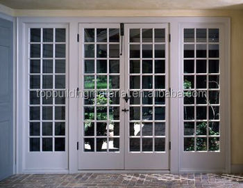 Outdoor French Double Swing Door Exterior Door With