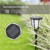 Waterproof LED Wall Light Solar Powered 96LED RGB Solar Garden Light Retro Flickering Flame Lamp