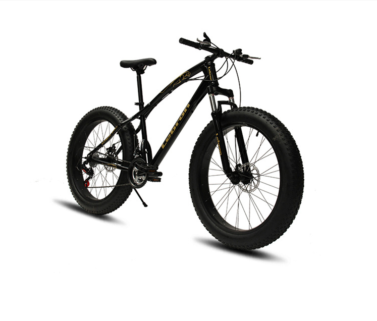 Hot sale cheap shock absorbing fat tire bicycle bike mountain bike beach bike