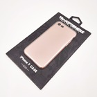 Phone Case folding magnet cardboard box with blister in special printing requirement
