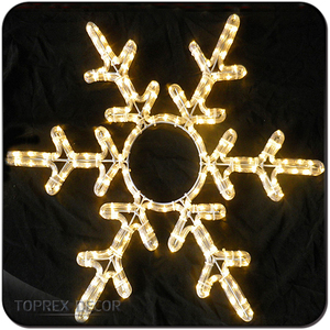 Snowflake decoration led christmas snow light