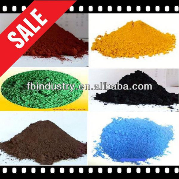 Factory Price of iron oxide pigment msds