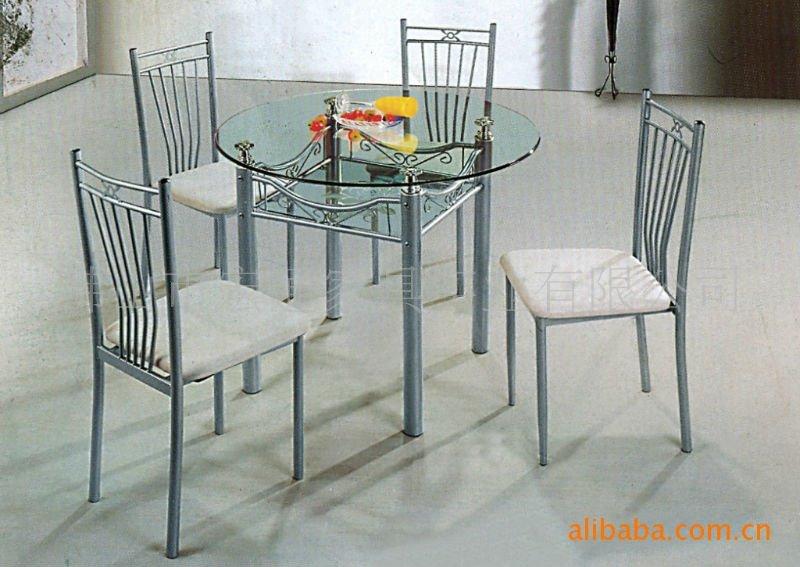 Diseño Clásico Hotel Home Muebles De Cristal Mesa De Comedor Y Silla ...