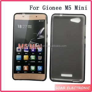 new arrival cf26b 227c6 Wholesale Price Matte TPU Soft Gel Case Back Cover For Gionee M5 Mini