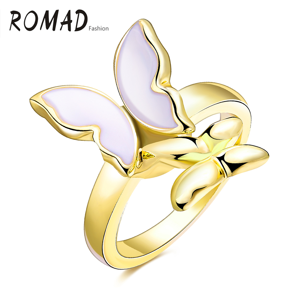 Women Latest Gold Finger Ring Designs Elegant Fashion Jewelry ...