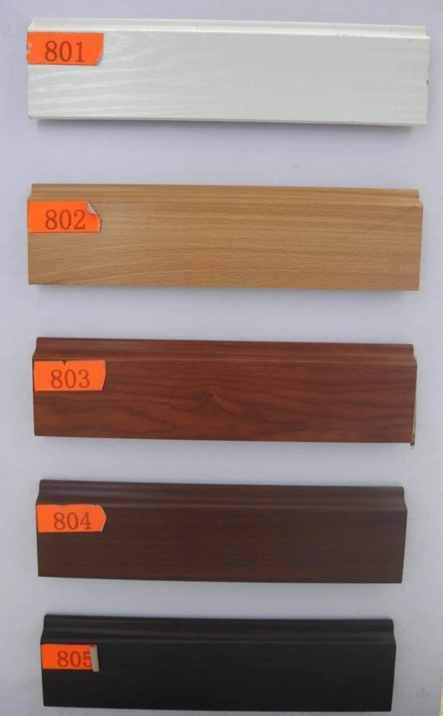 Cheap flooring accessories skirting board HDF MDF SOLID WOOD Skirting