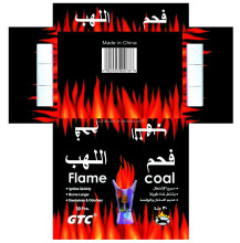 best best flame coal and silver hookah coal, burning time 90min
