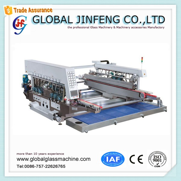 JFD-2020 Spindles Hot Sell glass window door straight line double edger for sale with Competitive Price in China Factory