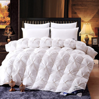 Hotel Bedding Inner Duck Feather Duvet and Cotton Goose Down Quilt Duvet Set